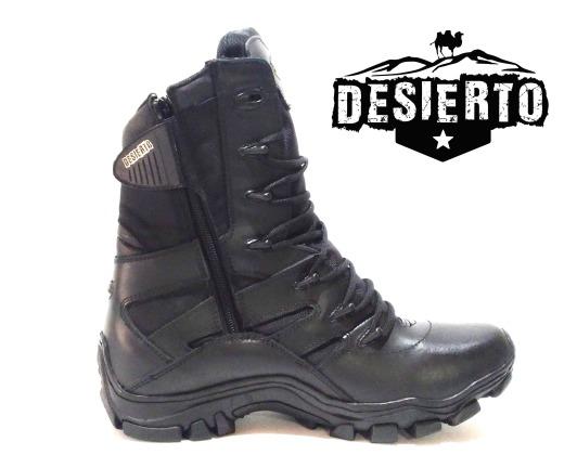Bota negra desierto II 2