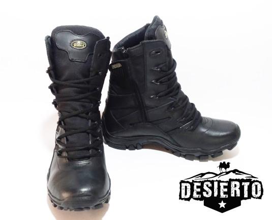 Bota negra desierto II 3