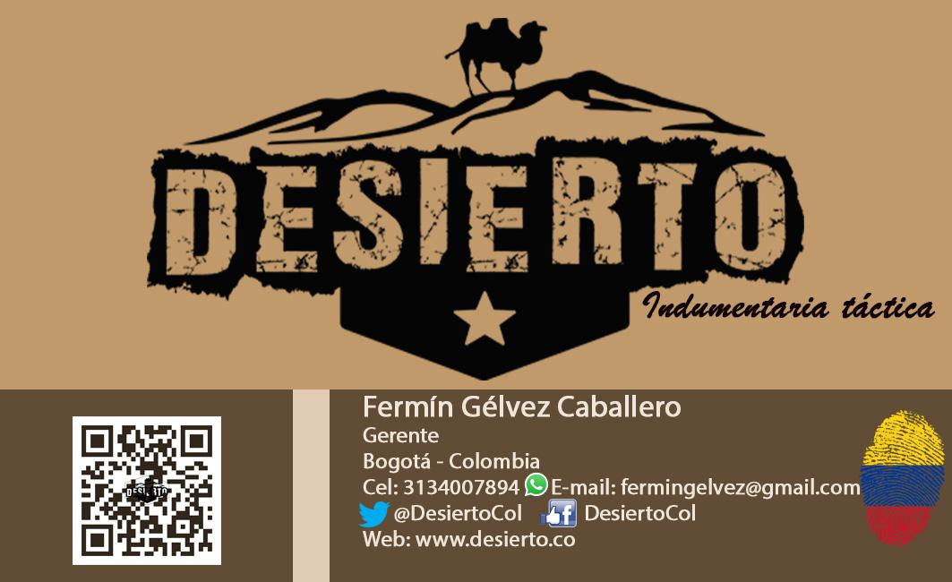 Tarjeta Desierto Fermin ültima